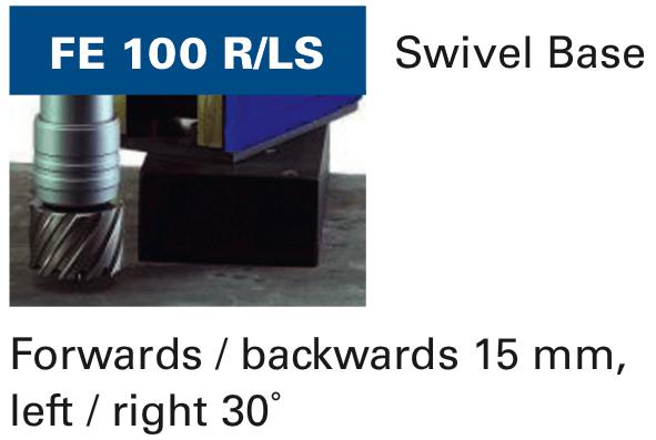 magnetic drilling machine swivel Fe 100