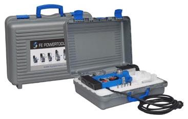 FE 32 RL Manyetik Matkap örnek taşıma çantası ile birlikte