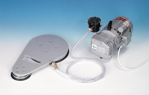 Vacuum plates for magnetic drills