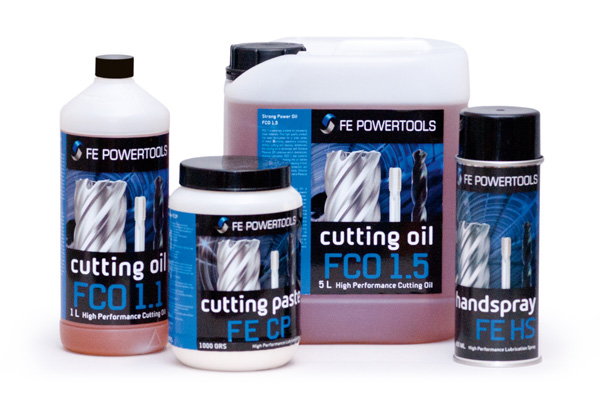 cutting oil for hole cutters or annular cutters