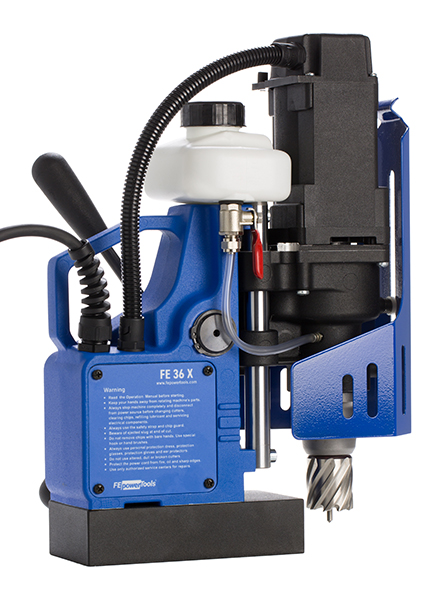 FE 36 X magnetic drilling machine Fe Powertools