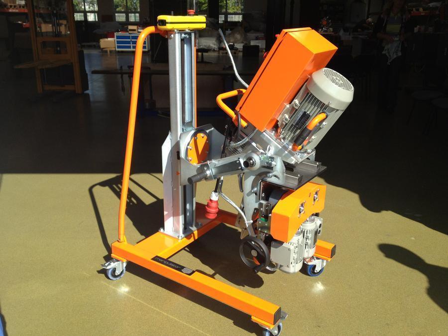 Beveling Machine UZ 50 for steel, stainless steel, HARDOX, DOMEX and aluminium